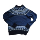 Sweater MONCLER Blue, navy, turquoise