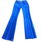 Jeans évasé, boot-cut CLAUDIE PIERLOT Bleu, bleu marine, bleu turquoise