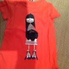 Top, T-shirt MARC JACOBS Rosso, bordeaux
