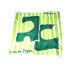 Foulard COURRÈGES Vert
