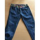 Pantalone DESIGUAL Blu, blu navy, turchese