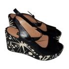Sandales compensées SONIA RYKIEL Noir