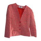 Blazer, veste tailleur GIVENCHY Rouge, bordeaux