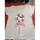 Top, Tee-shirt VICTORIA COUTURE Rose, fuschia, vieux rose
