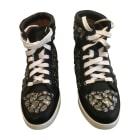 Sneakers JIMMY CHOO Blau, marineblau, türkisblau