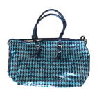 Non-Leather Handbag KARL LAGERFELD Blue, navy, turquoise