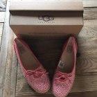 Ballet Flats UGG Pink, fuchsia, light pink