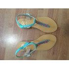 Sandales plates  HIPANEMA Bleu, bleu marine, bleu turquoise