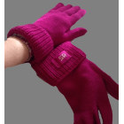 Gloves SONIA RYKIEL aubergine