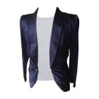 Blazer, veste tailleur GIVENCHY Obsedia Bleu, bleu marine, bleu turquoise