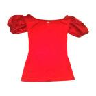 Top, t-shirt KENZO Rosso, bordeaux