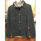 Gilet, cardigan LOUIS VUITTON Gris, anthracite