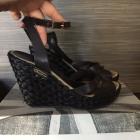 Sandales compensées PEPE JEANS Noir
