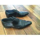 Lace Up Shoes ROCHAS Black