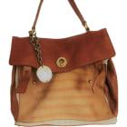 Leather Oversize Bag YVES SAINT LAURENT Multicolor