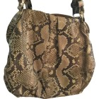 Leather Shoulder Bag CHRISTIAN LOUBOUTIN Animal prints