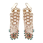 Ohrringe AURELIE BIDERMANN Gold, Bronze, Kupfer