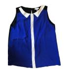 Débardeur CLAUDIE PIERLOT Bleu, bleu marine, bleu turquoise
