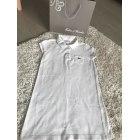 Dress LACOSTE White, off-white, ecru