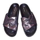 Sandales plates  ISABEL MARANT Noir