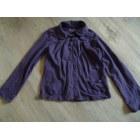 Gilet, cardigan CFK Violet, mauve, lavande