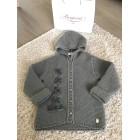 Coat BABY DIOR Gray, charcoal
