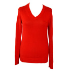 Sweater ARMANI JEANS Red, burgundy