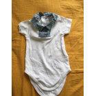 Bodysuit BABY DIOR White, off-white, ecru