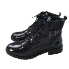 Bottines & low boots plates ONE STEP Noir