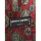 Cravate PIERRE CARDIN Rouge, bordeaux