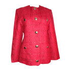 Skirt Suit YVES SAINT LAURENT Red, burgundy