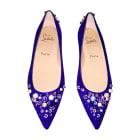 Ballet Flats CHRISTIAN LOUBOUTIN Purple, mauve, lavender