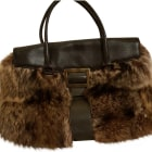 Leather Handbag ROGER VIVIER fauve