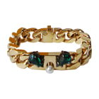 Bracelet FENDI Golden, bronze, copper
