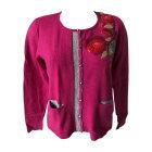 Vest, Cardigan KENZO Pink, fuchsia, light pink