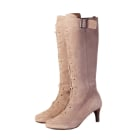 High Heel Boots MELLOW YELLOW gris taupe