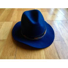 Hat HIPANEMA Blue, navy, turquoise