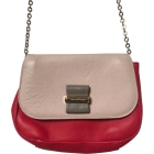 Schultertasche Leder SEE BY CHLOE Pink,  altrosa