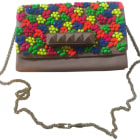 Leather Shoulder Bag VALENTINO Multicolor