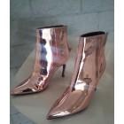Bottines & low boots à talons TOPSHOP Doré, bronze, cuivre