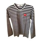 Tops, T-Shirt COMME DES GARCONS Blau, marineblau, türkisblau