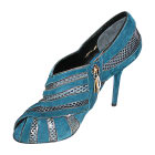 High Heel Ankle Boots DOLCE & GABBANA Blue, navy, turquoise