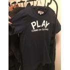 Top, T-shirt COMME DES GARÇONS PLAY Black