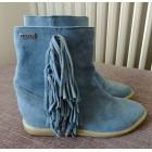 Bottines & low boots à compensés BEE FLY Bleu, bleu marine, bleu turquoise