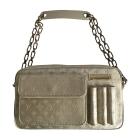 Non-Leather Handbag LOUIS VUITTON Silver