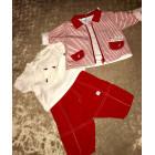 Ensemble & Combinaison pantalon BERLINGOT Rouge, bordeaux