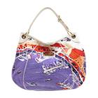 Non-Leather Handbag LOUIS VUITTON Galliera Multicolor