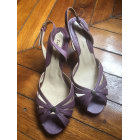 Heeled Sandals ZADIG & VOLTAIRE Purple, mauve, lavender