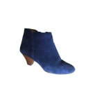 High Heel Ankle Boots SESSUN Blue, navy, turquoise