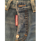 Jean slim DSQUARED2 Blu, blu navy, turchese